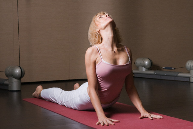 Woman Doing Yoga 2