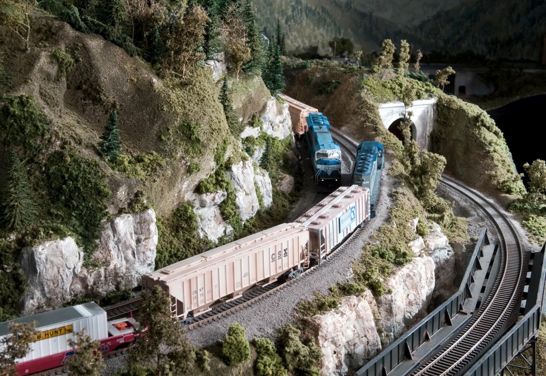 Model Train design